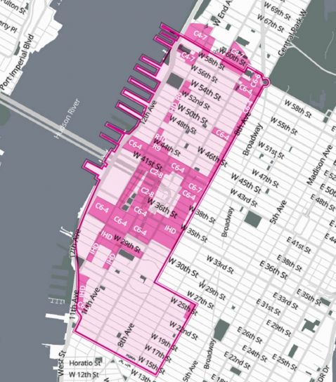 Manhattan CD 4 Inclusionary Air Rights